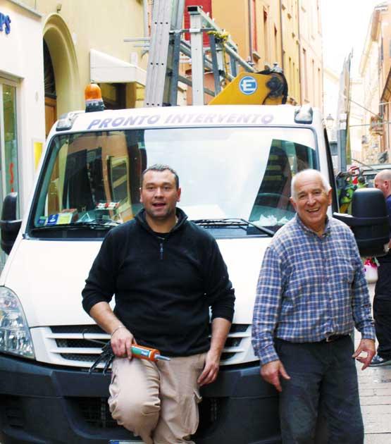 Graziano e Luca Martuzzi